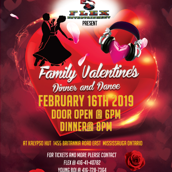 Flex Ent - Family Valentines Dinner and Dance