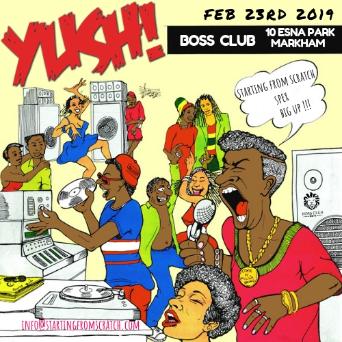 YUSH - A JOURNEY THROUGH REGGAE MUSIC - FEB 23rd