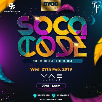 Soca Code 2K19