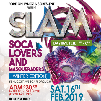 Foreign Lyncz - Sobes Ent - Slam - Soca Lovers And Masqueraders