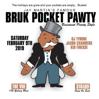 Bruk Pocket Pawty -- Basement Pawty Style