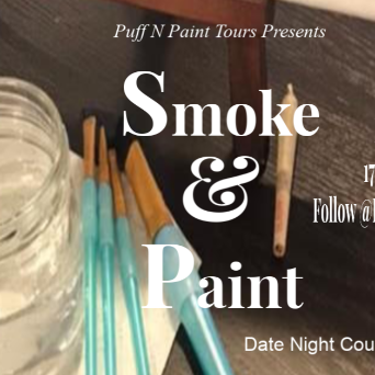 Valentine's Day Smoke & Paint Date Night