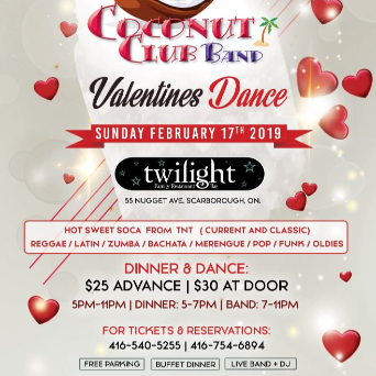Valentines Dance Feat. Coconut Club Band Live