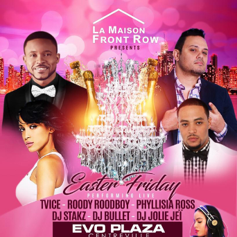 La Maison Front Row - Easter Friday