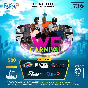 WE CARNIVAL / WITH ALL THE NEW MUSIC / BOSS NIGHT CLUB MARKHAM