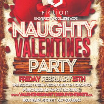 VALENTINES PARTY 2019 @ FICTION NIGHTCLUB | FRIDAY FEB 15TH