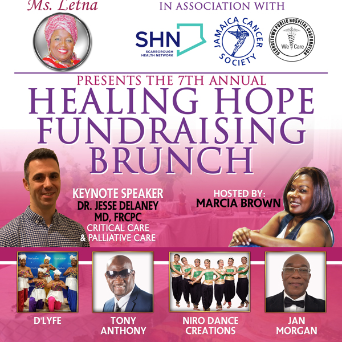 The 7th Annual Healing Hope Fundraising Brunch