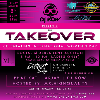 DJ KOW Presents: The Takeover