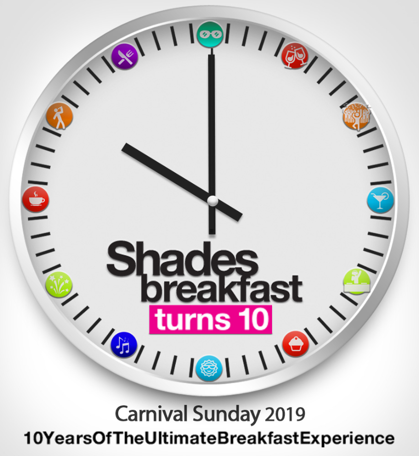 SHADES BREAKFAST TURNS 10