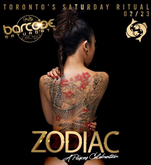 BarcodeSaturdays Zodiac Party