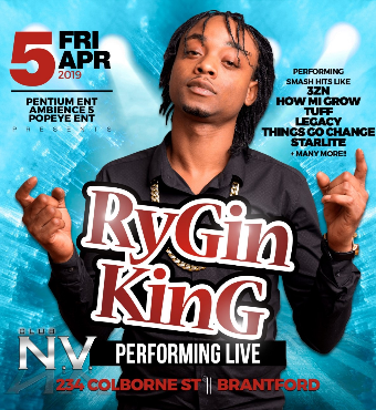 RYGIN KING LIVE IN CONCERT