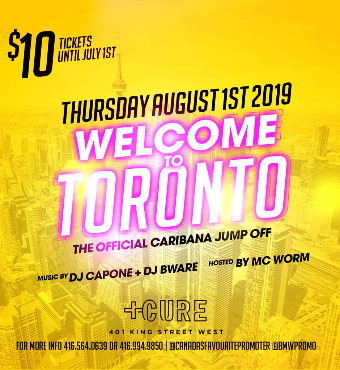 WELCOME TO TORONTO : THE OFFICIAL CARIBANA JUMP OFF PARTY
