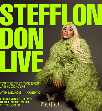Steff Lon Don Live in Toronto