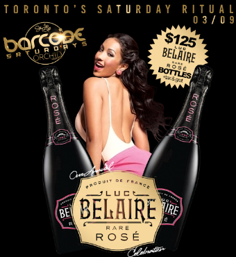 Barcode Saturdays $125 BELAIRE Party