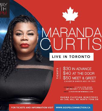 Maranda Curtis LIVE in Toronto