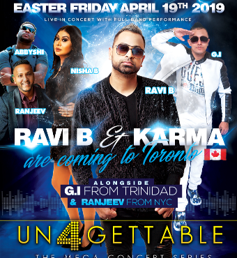 Unforgettable Mega Concert Series Ravi b and Karma FT GI