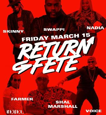 Return Fete 2019 @ Rebel