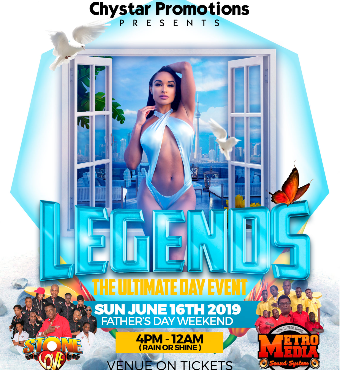 LEGENDS - THE ULTIMATE DAY EVENTS