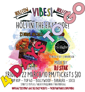 VIBES - Holi Edition | March 22nd