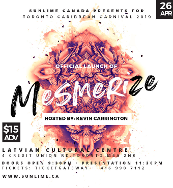 Sunlime Canada Presents 'Mesmerize'