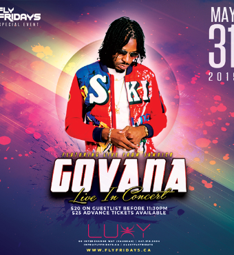 Govana Performing Live In Concert