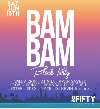 Bam Bam Block Party