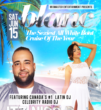 BLANC - The Sexiest All White Boat Cruise Of The Year