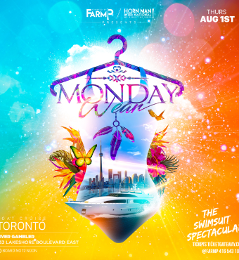 MONDAY WEAR BOAT CRUISE/ 2 ANNUAL  . THE ORIGINAL IS BACK!
