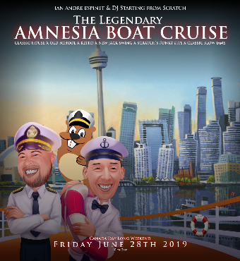 ABC | The Legendary Amnesia Boat Cruise Summer 2019