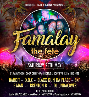 FAMALAY the Fete