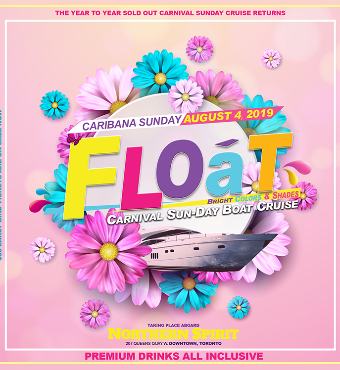 Float - Caribana Sunday Drinks Inclusive Boat Cruise