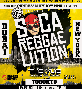 SOCA REGGAELUTION VICTORIA DAY 2019