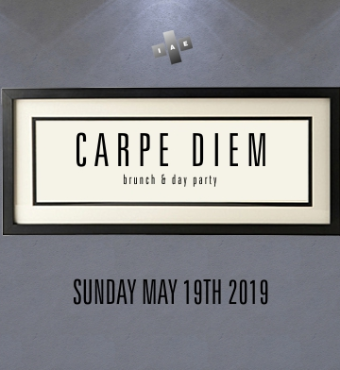Carpe Diem - Brunch & Day Party - Victoria Day Long Weekend Sunday May 19th
