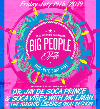 Big People Midnite Boatride 2019