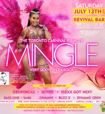 Mingle - The Toronto Carnival Prime Up