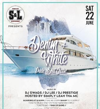Denim + White - Pride Boat Cruise