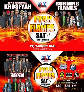 Fyah & Flames Soca Event 2019