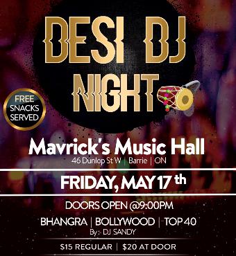 Desi DJ Night
