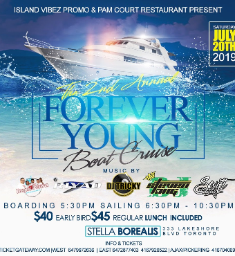 Forever Young Boat Ride 2019