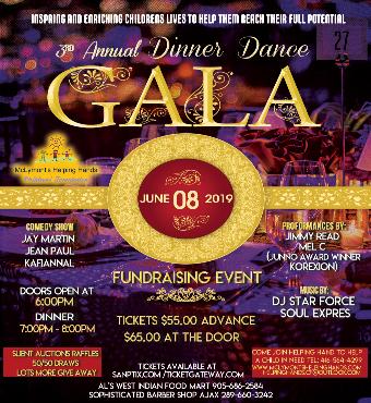Fundrasing 3rd Annual Gala Dinner Dance
