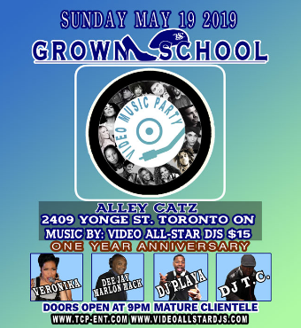 GROWN SCHOOL VIDEO MUSIC PARTY