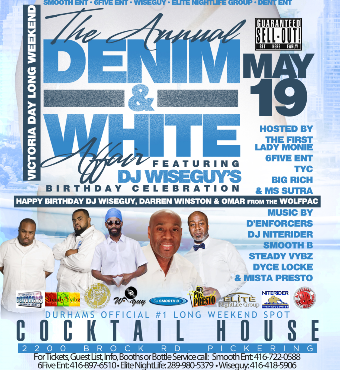 The Annual Denim And White Affair