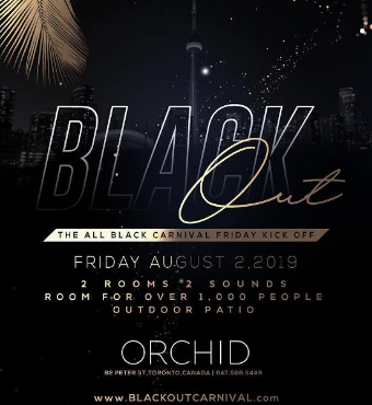 BLACK OUT : THE BLACK CARNIVAL FRIDAY KICK OFF
