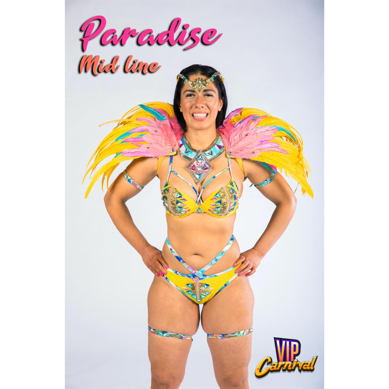 Hourglass Workout Caribana Costume and Fitness Package