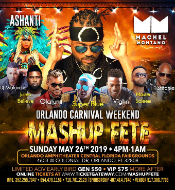 MASH UP FETE - Orlando Carnival Weekend