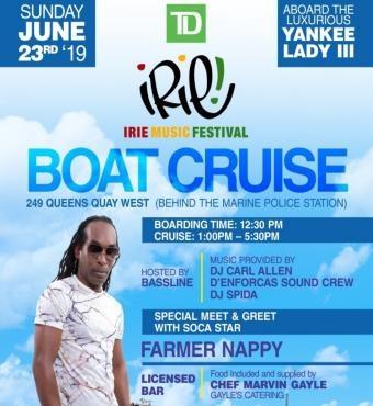 TD IRIE - Boat Cruise