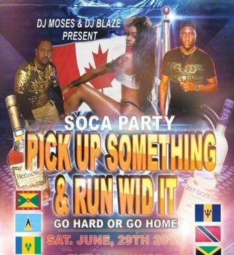 Soca Party - Pick Up Something And Run Wid It
