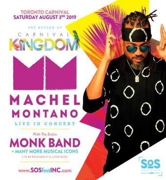 CARNIVAL KINGDOM | SOS FEST | MACHEL MONTANO with THE MONK BAND and FRIENDS
