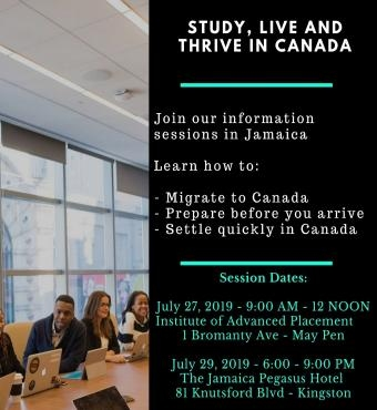 Welcome To Canada Immigration Information Session - May Pen