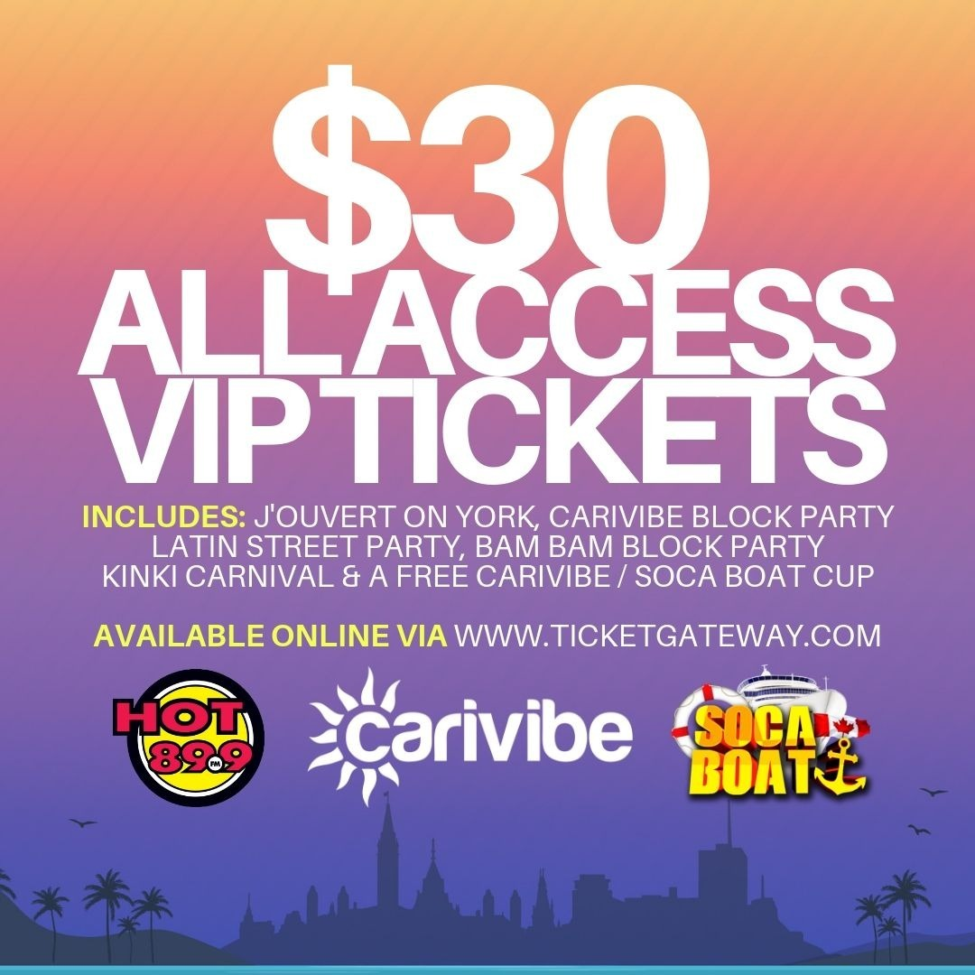 Carivibe Weekend All Access VIP Ticket